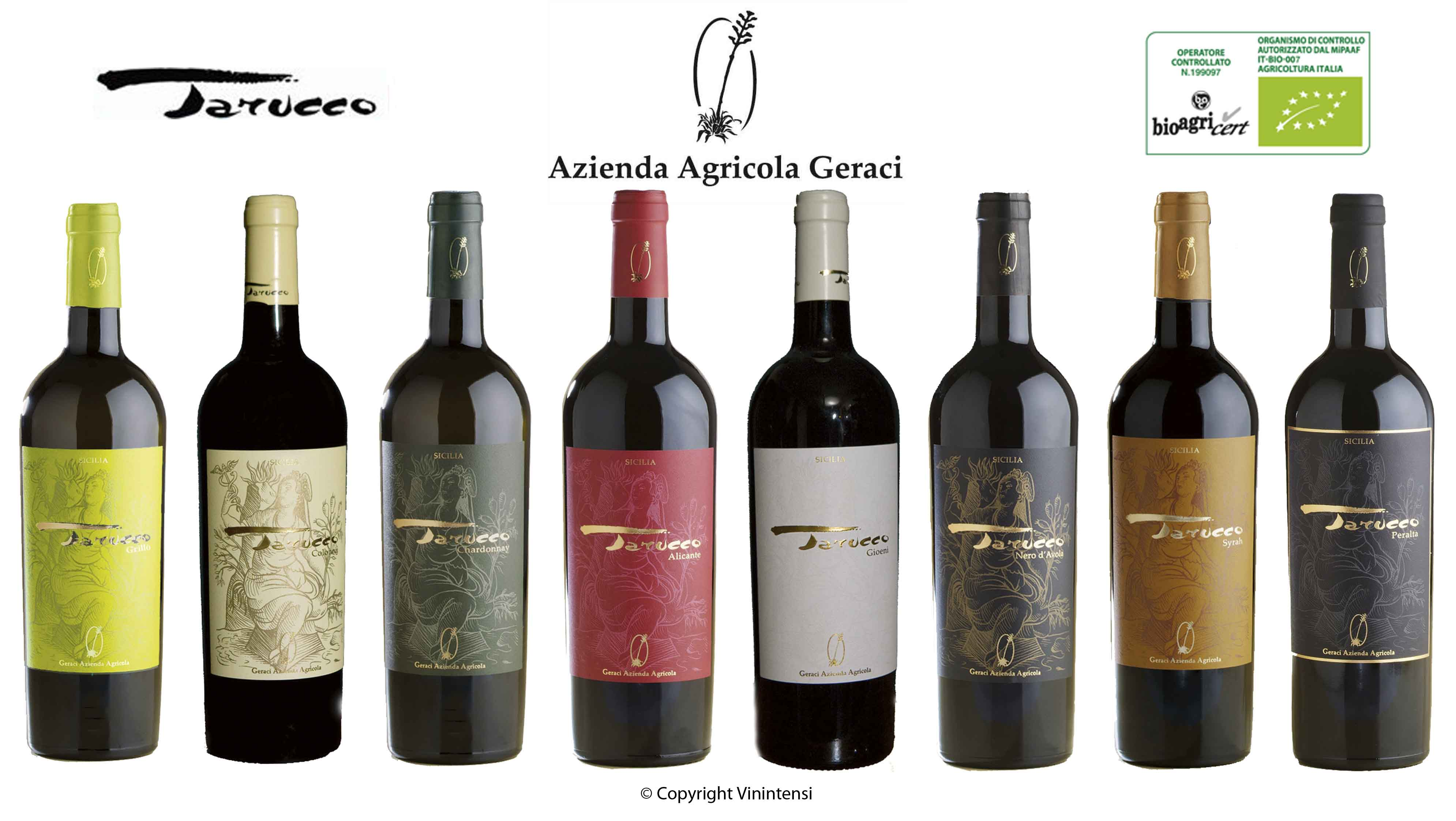 Vini Tarucco fond blanc avec logo XLR